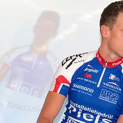 19-02-2016: Wielrennen: Teampresentatie Cyclingteam Jo Piels: Venray  <br />VENRAY (NED) wielrennen<br />In de Witte Hoeve in Venray werd het cyclingteam Jo Piels gepresenteerd. De ploeg was in 2015 een van de uitblinkers in de topcompetitie. Twan Brusselman gaat opjacht naar een profcontract