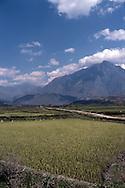 Landscape in the area of Binh Lu close from Sapa