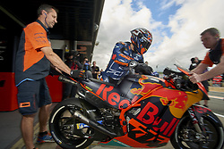 November 20, 2018 - Valencia, Spain - Johann Zarco (5) of France and Red Bull KTM Factory Racing  during the tests of the new MotoGP season 2019 at Ricardo Tormo Circuit in Valencia, Spain on 20th Nov 2018  (Credit Image: © Jose Breton/NurPhoto via ZUMA Press)
