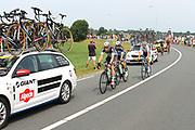 Tweede etappe van de Tour de France van Utrecht naar Neeltje Jans over 166 kilometer, gefotografeerd bij de Meern <br /> <br /> Second stage of the Tour de France from Utrecht to Neeltje Jans about 166 kilometers, photographed at the Meern<br /> <br /> Op de foto:  Peleton