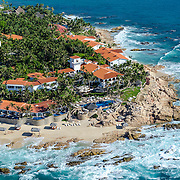 Aerial view of Hotel One and Only Palmilla. San Jose del Cabo. Baja California Sur, Mexico.