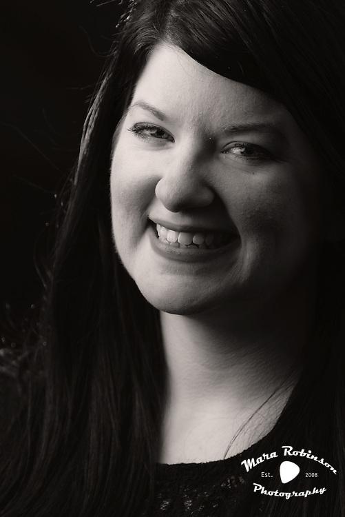 Nikki Delamotte portrait photography by Akron portrait photographer Mara Robinson