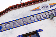 Cave cooperative co-operative, 1921. Embres et Castelmaure Cave Cooperative co-operative. Les Corbieres. Languedoc. The winery building. France. Europe.