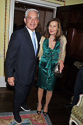 SIMON & JOYCE REUBEN at Tatler's Jubilee Party in association with Thomas Pink held at The Ritz, Piccadilly, London on 2nd May 2012.