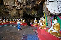 Myanmar (ex Birmanie), Province de Karen, environs de Hpa-an, grotte de Saddar // Myanmar (Burma), Karen state, around Hpa-an, Saddar cave