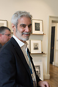 JAMES DANZIGER, Opening of Photo London, 2018. Somerset House. London. 16 May 2018