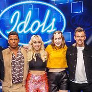 NLD/Amsterdam20160518 - 1e Liveshow Idols 5 2016, winnende deelnemers