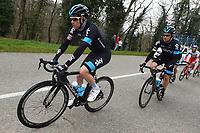 NORDHAUG Lars-Petter (Nor) / ROCHE Nicolas (Irl) during the Paris Nice 2015 in France, Stage 3, Saint Amand-Montrond to Saint-Pourcain-sur-Sioule (179 km), on March 11, 2015 - Photo Tim de Waele / DPPI