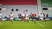 Rugby Union - 2020 / 2021 Gallagher Premiership - Round 4 - Harlequins vs Bristol Bears  - The Stoop<br /> <br /> Siva Naulago, of Bristol Bears, catches the high ball<br /> <br /> COLORSPORT/DANIEL BEARHAM