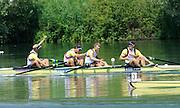 Lucerne, Switzerland.  GBR M4- Bow Alex PARTRIDGE, Rick EGINGTON, Alex GEGORY and Matt LANGRIDGE, Gold Medalist,  Men's Four. 2010 FISA World Cup. Lake Rotsee, Lucerne.  10:21:23   Sunday  11/07/2010.  [Mandatory Credit Peter Spurrier/ Intersport Images]