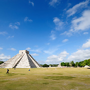 Templo de los Guerreros (Temple of Warriors) at the ancient Mayan ruins at Chichen Itza, Yucatan, Mexico 081216094326_4470.NEF