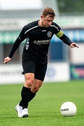 Jordi van Houten of VV Maarssen in action. First friendly match after the Corona outbreak. VV Maarssen lost the away match against big league Spakenburg 5-1 on 4 July 2020 in Spakenburg.