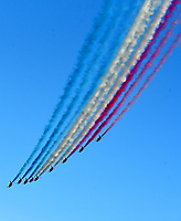 environmental activists  accused the PM of greenwash after he flew to Cornwall in a private jet,had the Red Arrows put on a display at the G7 Summit  to discuss environmental issues.
