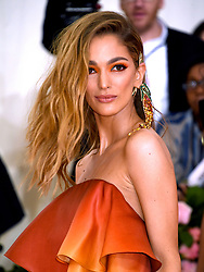 Sofia Sanchez Barrenechea attending the Metropolitan Museum of Art Costume Institute Benefit Gala 2019 in New York, USA.