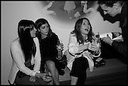 LILAH PARSONS; RACHEL GRAYER; ANGELA SCANLON, Julia Peyton-Jones, Hans Ulrich Obrist and Coach host the Serpentine Future Contemporaries Party. Serpentine Sackler Gallery. Kensington Gdns. London. 21 February 2015