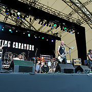 King Creature supporting Motorhead & The Stranglers live at the Eden Sessions, Saturday 27th June 2015 @ the Eden Project, Bodelva, Cornwall