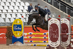 Stevens Johnny, BEL, Jackpot van de Pluimert Z<br /> Pavo Hengsten competitie - Oudsbergen 2021<br /> © Hippo Foto - Dirk Caremans<br />  22/02/2021