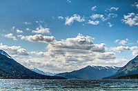 Lake Wenatchee is a beautiful mountain lake within the Cascade Mountains which sits at an altitude of about 2000 feet above sea level. The lake is often full of salmon, and the forest surrounding the lake teams with wildlife.