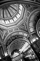 the stunning dome and interior of the World Heritage Royal Exhibition Building in Melbourne.