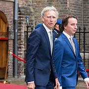 NLD/Den Haag/20190917 - Prinsjesdag 2019, Paul Rosenmoller met zijn zoon