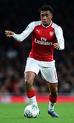 Alex Iwobi of Arsenal - Mandatory by-line: Alex James/JMP - 24/10/2017 - FOOTBALL - Emirates Stadium - London, England - Arsenal v Norwich City - Carabao Cup
