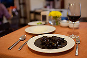 Black Mole is the signature dish of Oaxaca, consisting of chicken with a chocolate sauce. Oaxaca is known throughout Mexico and internationally for it's great food. Seen as a centre for Mexican cuisine, among other regional specialities the dish the area is best known for is called Mole.