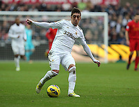 Sunday, 25 November 2012..Pictured: Pablo Hernandez of Swansea..Re: Barclays Premier League, Swansea City FC v Liverpool at the Liberty Stadium, south Wales.
