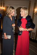 LADY GRIMTHORPE; MARY HAMBRO, Cartier 25th Racing Awards, the Dorchester. Park Lane, London. 10 November 2015