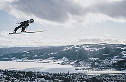 09.03.2020, Lysgards Schanze, Lillehammer, NOR, FIS Weltcup Skisprung, Raw Air, Lillehammer, Herren, Probesprung, im Bild Gregor Schlierenzauer (AUT) // Gregor Schlierenzauer of Austria during men's trial jump of the 2nd Stage of the Raw Air Series of FIS Ski Jumping World Cup at the Lysgards Schanze in Lillehammer, Norway on 2020/03/09. EXPA Pictures © 2020, PhotoCredit: EXPA/ JFK
