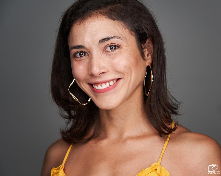 Katrina D. poses for a headshot at SOSKIphoto in Hayward, California, on October 16, 2020. (Stan Olszewski/SOSKIphoto)