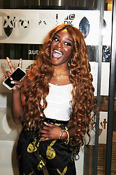 © Licensed to London News Pictures. 29/08/2013. LONDON. Azealia Banks, BBC Radio 1 Xtra, London UK, 29 August 2013. Photo credit : Brett D. Cove/Piqtured/LNP