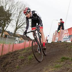 11-01-2020: Wielrennen: NK Veldrijden: Rucphen<br />Jordy Beuker