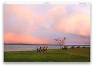 Traverse Bay at Elk Rapids, Michigan, USA