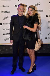 October 26, 2016 - Oostende, BELGIQUE - OOSTENDE, BELGIUM - OCTOBER 26 : PAUWELS Serge (BEL) Rider of DIMENSION DATA and his wife pictured during the red carpet of the annual trophy named '' De Flandrien '' by the belgian newspaper Het Nieuwsblad for the best cyclist of 2016 at the Gala van De Flandrien (Credit Image: © Panoramic via ZUMA Press)
