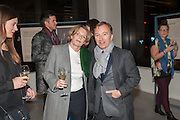 ANNABELLE SELLDORF; TONY CHAMBERS; , Editor of Wallpaper: Tony Chambers and architect Annabelle Selldorf host drinks to celebrate the collaboration between the architect and three of Savile Row's finest: Hardy Amies, Spencer hart and Richard James. Hauser and Wirth Gallery. ( Current show Isa Genzken. ) savile Row. London. 9 January 2012.