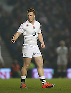 Rory Jennings during the 2015 Under 20s 6 Nations match between England and France at the American Express Community Stadium, Brighton and Hove, England on 20 March 2015.