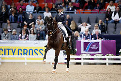 Gevers Katja, (NED), Thriller<br /> Gothenburg Horse Show FEI World Cups 2017<br /> © Hippo Foto - Stefan Lafrentz<br /> 24/02/17