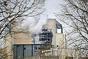 Nederland, Nijmegen, 8-11-2012Ontploffing bij de centrale van Electrabel. Grote schade in het ketelhuis.Foto: Flip Franssen