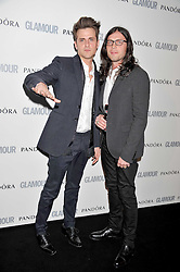 Jared Followill; Nathan Followill from the Kings of Leon at the Glamour Women of The Year Awards 2011 held in Berkeley Square, London W1 on 7th June 2011.