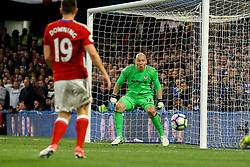Brad Guzan of Middlesbrough watches as the ball comes his way - Mandatory by-line: Jason Brown/JMP - 08/05/17 - FOOTBALL - Stamford Bridge - London, England - Chelsea v Middlesbrough - Premier League