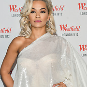 Rita Ora prepare to take the stage at Westfield London 10th-year anniversary birthday celebrations on 30 October 2018, London, UK.