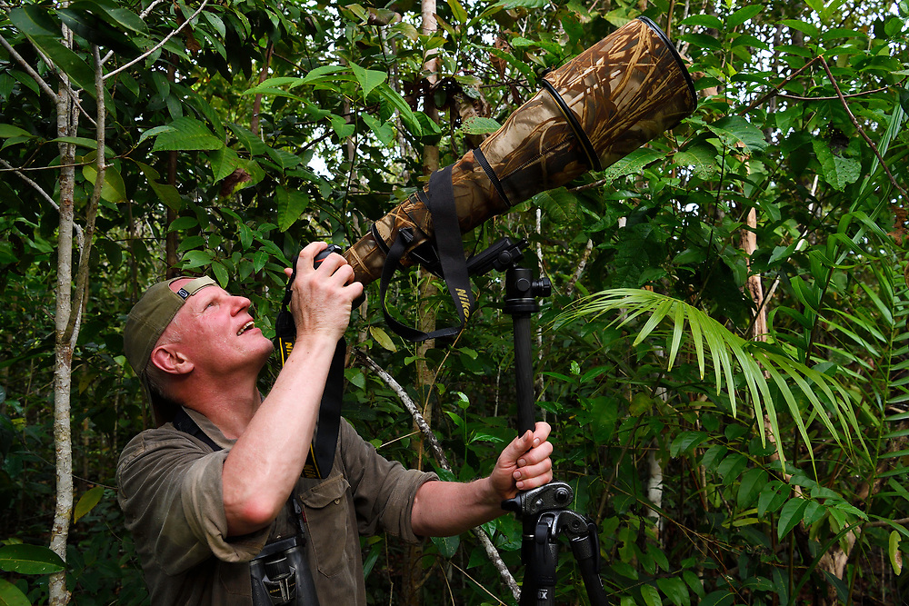"""Photographer Staffan Widstrand, Raja Ampat, Western Papua, Indonesian controlled New Guinea, on then Science et Images """"Expedition Papua, in the footsteps of Wallace"""", by Iris Foundation"""