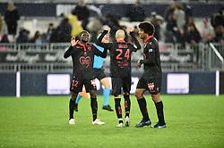 October 28, 2018 - Bordeaux, France - Fin de match Joueurs de Nice (Credit Image: © Panoramic via ZUMA Press)