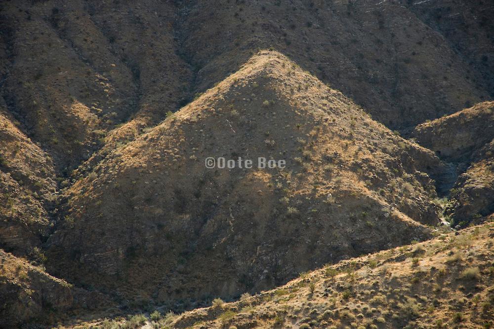 the San Jacinto Mountain range near Palm springs USA