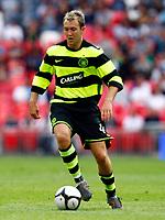 Aiden McGeady of Celtic    Wembley Cup 2009 Celtic v Al Ahly<br /> at Wembley Stadium London<br /> 24/07/2009 Credit Colorsport / Kieran Galvin