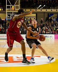 13-03-2011 BASKETBAL: HEREN ALL STAR GALA: ZWOLLE<br /> Matt Bauscher USA (GasTerra Flames Groningen)<br /> ©2011-WWW.FOTOHOOGENDOORN.NL / Peter Schalk