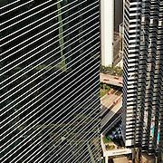 Architectural view of Hong Kong City, Hong Kong