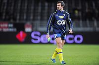 Brock James  - 28.12.2014 - Lyon Olympique / Clermont - 14eme journee de Top 14 <br />Photo : Jean Paul Thomas / Icon Sport