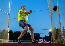 Primoz Kozmus of Slovenia during Hammer throw at 19th International EA Classic Meeting in Honor of Miners' Day Velenje 2014 on July 1, 2014 in Stadium Velenje, Slovenia. Photo By Vid Ponikvar / Sportida