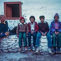 Meredith Wiltsie in Nepal, 1977.